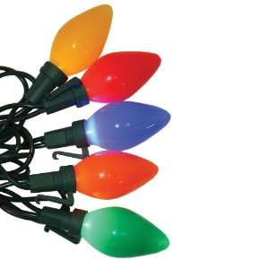 Good Tidings 21700 Light Set LED C7 25 Ceramic Multi Wire