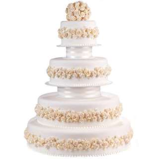 wilton tailored tiers wedding cake display stand set. Black Bedroom Furniture Sets. Home Design Ideas