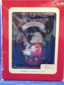 Carlton Heirloom Collection Santa Claus Christmas Ornament Each Sold
