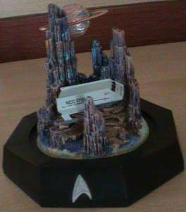 FRANKLIN MINT Star Trek Sculpted Gallileo II Shuttlecraft