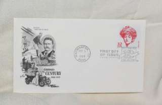 GIBSON GIRL STAMP FIRST DAY ISSUE CELEBRATE THE CENTURY