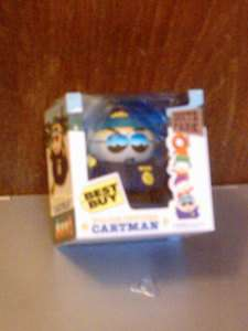 RARE SOUTH PARK OFFICER CARTMAN TOY DOLL FIGURE NIB