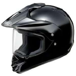 SHOEI HORNET DS DUAL SPORT MOTORCYCLE HELMET BLACK SM