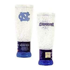 North Carolina Tar Heels UNC NCAA Crystal Pilsner Glass