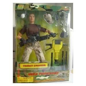 WORLD PEACEKEEPERS COMBAT ENGINEER Toys & Games