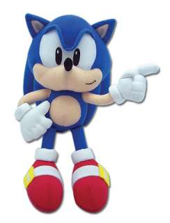 New Classic Sonic Sonic 9 Plush Toy (GE 7088)