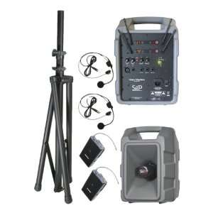 Sound Projections Voice Machine Portable PA System w/ 90 Channel Dual