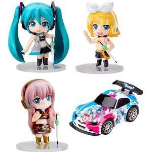 Nendoroid Petite Vocaloid Race Queen Figure Set   WHITE