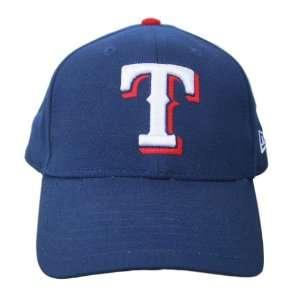 New Era Texas Rangers Velcro Strap Cap Hat   Blue Sports