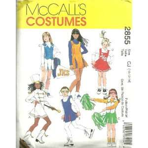 And Girls Cheerleader And Majorette Costumes McCalls Costumes