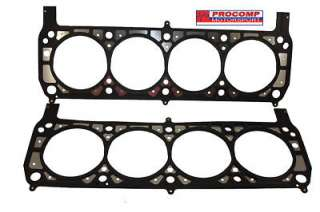 of high performance small block Ford 351W multilayer head gaskets