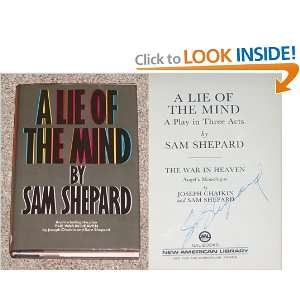 Lie of the Mind: Sam Shepard: 9780453005302:  Books