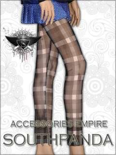 SL138 EMO Gothic Punk Rock Black Tight Pants Legging