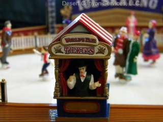 Gold Label Worlds Fair Ice Skating Rink Christmas New