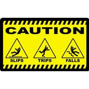 Caution Slips Trips and Falls Safety Mat Keep Safety Front