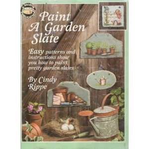 Paint a garden slate: Easy patterns and instructions show