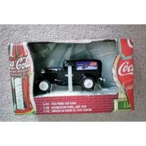 Coca Cola Die Cast Metal 143 Scale 1932 Coke Panel Van Bank    1999
