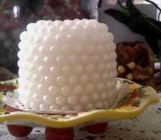 Silicone Pearl Pillar Candle Mold ~ Wedding ~ Open Top