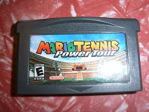 MARIO TENNIS, GAMEBOY ADV ADVANCE GAME BOY TESTED
