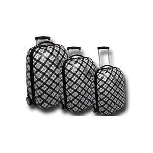 Travel Concepts Le Print Collection 3 piece Hard side Luggage Set
