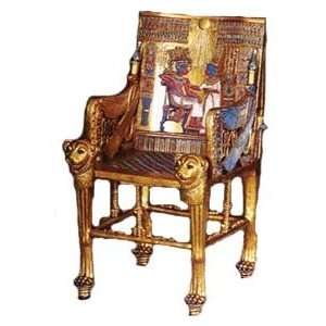 Egyptian Kings Throne Statue Ancient Egypt: Home & Kitchen