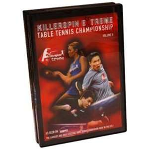 Table Tennis Volume 2 DVD RED CASE 148 MINUTES