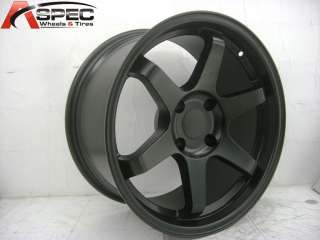 VARRSTOEN ES112 F/19X9.5 R/19X11 5X120 HYPER BLACK RIM WHEEL FIT BMW