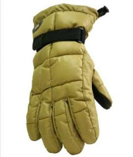 Womens GOOSE DOWN Ski/Snowboard Gloves by GRANDOE