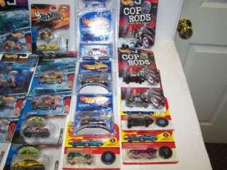 HOT WHEELS COP RODS Die Cast Cars LOT NEW Final Run Mattel Racing