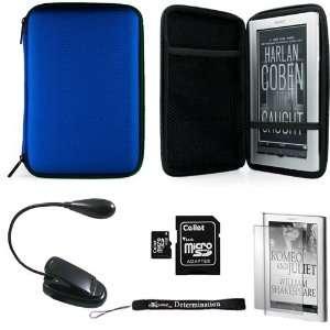 SD Card with SD Adaptor + Black Clip On Brighty XtraFlex LED Light