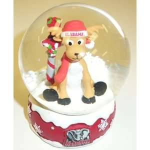 Alabama Crimson Tide NCAA Holiday Snow Globe