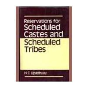 Reservations for Scheduled Castes and Scheduled Tribes