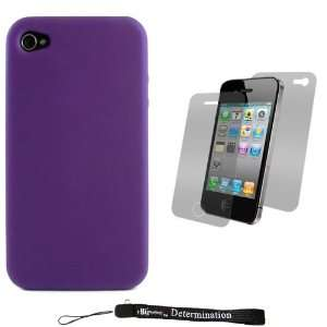 Durable Protective Silicone Skin Cover Case for New Apple iPhone 4