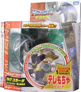 TRANSFORMERS BEAST WARS TAKARA TM 07 COBRA + DVD EXCLUSIVE MISB