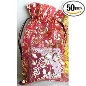 RED ROSE VALENTINES DAY POUCH (50 PCS SET) Health