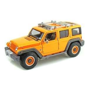 Jeep Rescue Concept 1/18 Orange Toys & Games