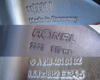 18 FACTORY MERCEDES CLS550 RONAL OEM CHROME WHEELS RIMS   SET OF 4