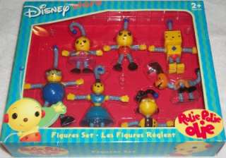 Rolie Polie Olie  Bendable Figures Set New