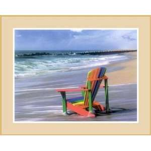 Chair by Mike Jones   Framed Artwork: Home & Kitchen