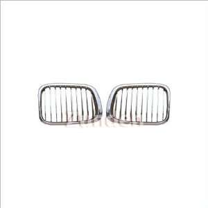 Zunden Trim Chrome OEM Style Grille 99 01 BMW 323i Automotive