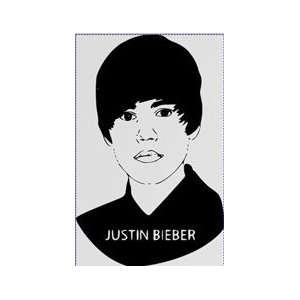 Justin Bieber Large Vinyl Decal Home & Kitchen