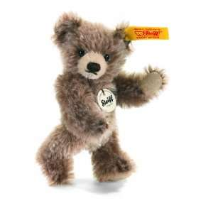Steiff Brown Tipped Plush Mini Teddy Bear Toys & Games