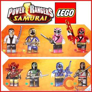 Power Rangers Samurai Figure Random Pack Series 1 Lego Mega Block