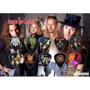 Alice In Chains Tribute Guitar Pick Display Electronics