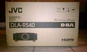 JVC DLA RS40U 3D 1080P PROJECTOR