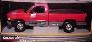 ERTL 118 1995 Dodge Ram Magnum Pickup Red CASE IH