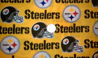 Over Collar Slide On Pet Dog Cat Bandana Scarf Pittsburgh Steelers