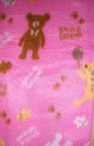 New Little Mimos Fleece Receiving Blanket, Baby Shower, Diaper Cake