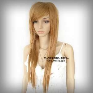 new fashion women long full lady Straight hair cosplay party wig/wigs