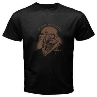 Black Sabbath Iron Man Tony Stark The Avengers Black T shirt FREE